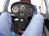 Cockpit hinten